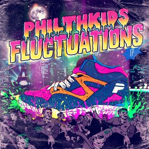 Philthkids - Fluctuation EP - AUF010 featuring HxdB, Cure, Self Evident