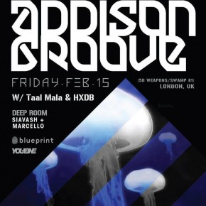 Blueprint, Aufect & 314 Present Addison Groove!  Friday Feb 15th, 2013 - Shine Nightclub, Vancouver BC