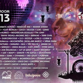 Shambhala 2013 lineup announced featuring DJ CURE @ The Living Room Stage
